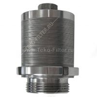 Fleck top and bottom strainer water distributor for water filter tank, Plate type